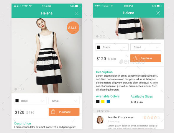 17 mobile e commerce design psds design freebies for E commerce mobili