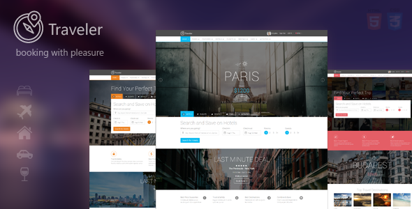 Traveler Multipurpose Booking Template