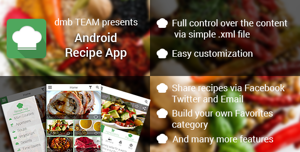 Android Recipe App