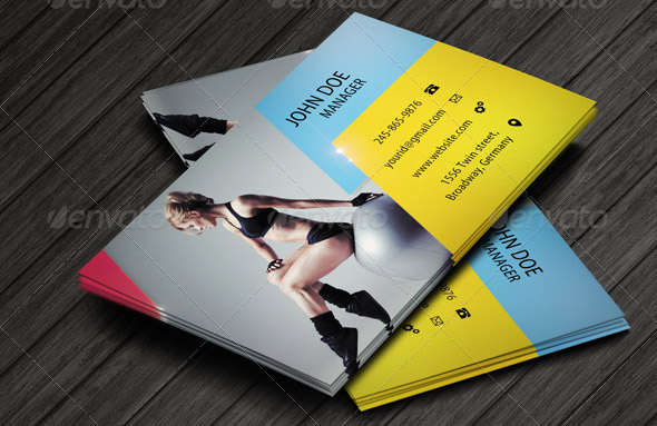 Fitness Business Card 02