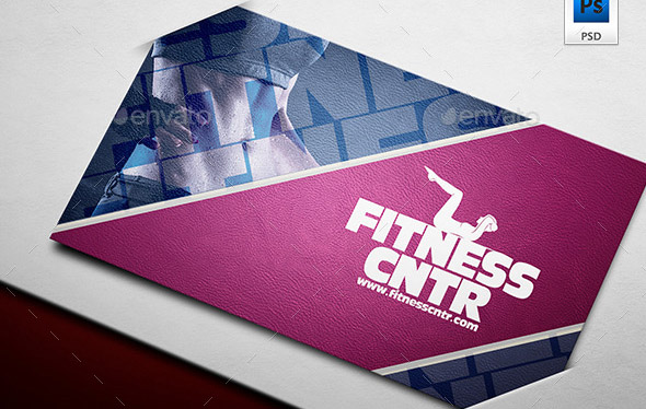 Fitness Company Business Card