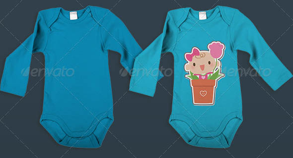 Baby Clothes Mock-Up