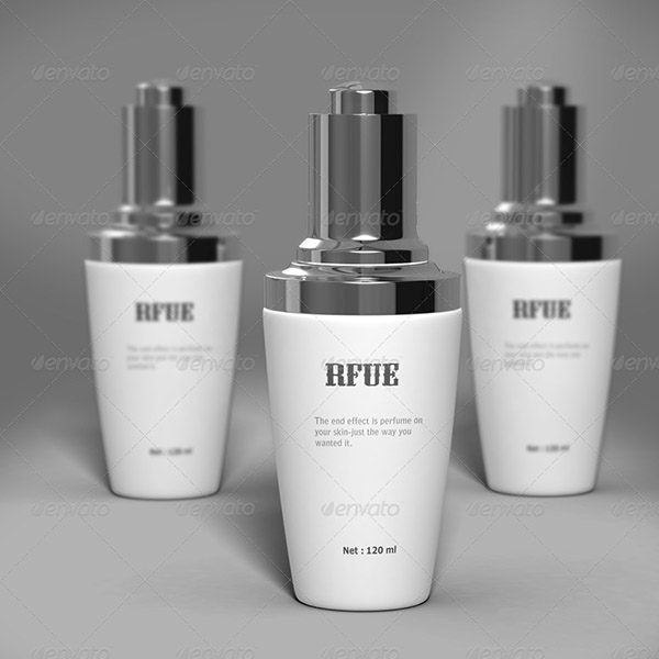 Cosmetic Bottles Mock-up