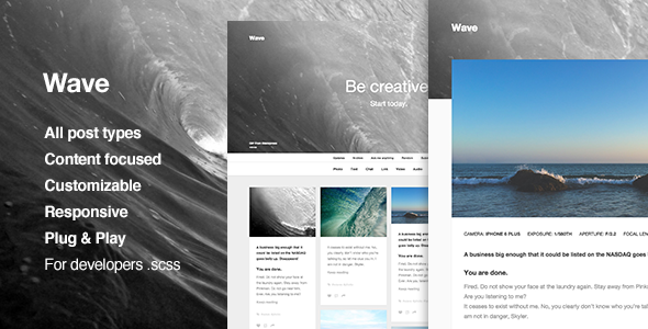 Creative Portfolio Tumblr Theme