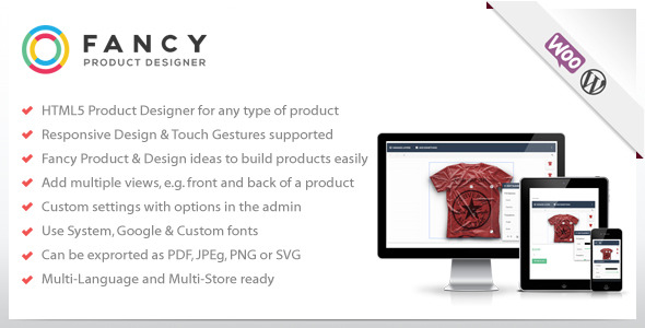 Fancy Product Designer - WooCommerce plugin