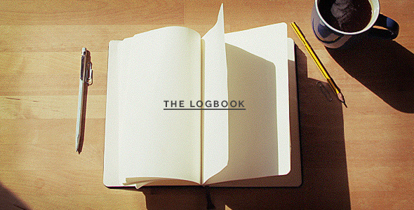 The Logbook Mockup