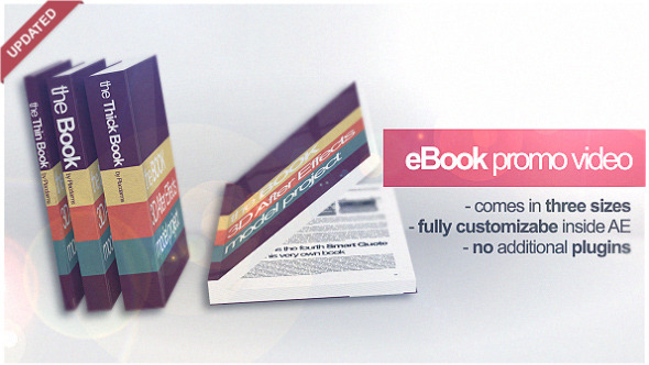 eBook Promo Project Marketing Video