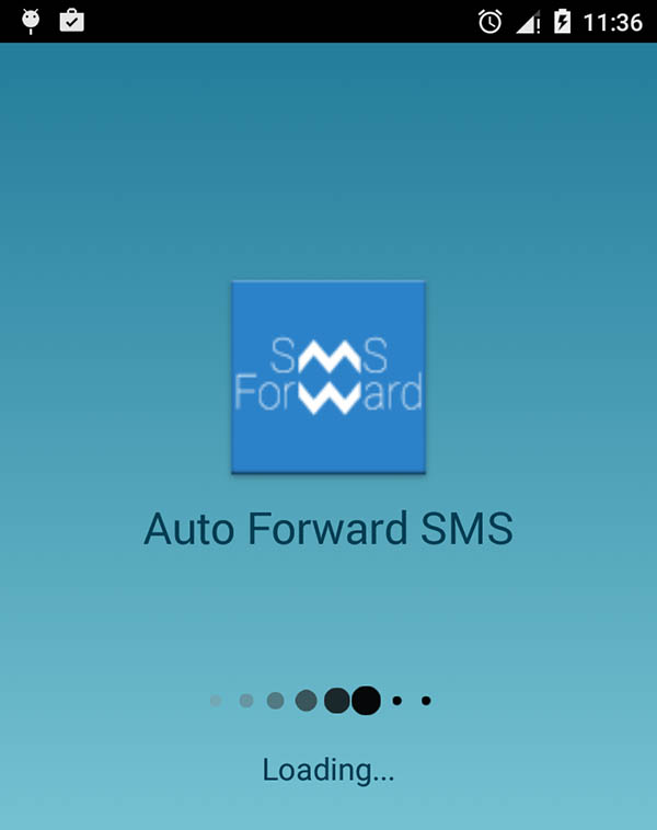 Auto Forward SMS with Startapp
