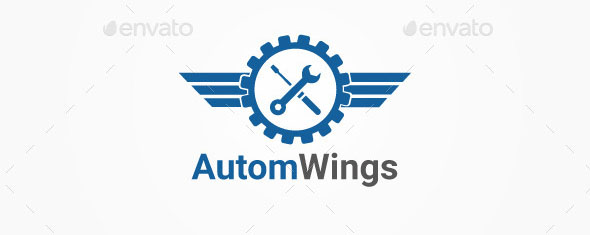 Auto Wings Logo
