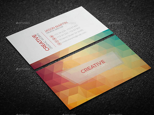 Clean Business Card V0151