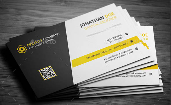 Clean Corporate Business Card v2