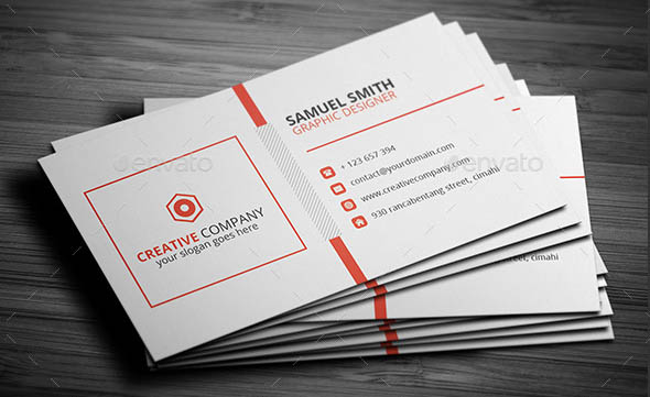 Clean Corporate Business Card v3