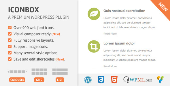 Icon Box WordPress Plugin