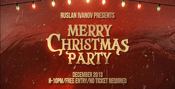 Merry Christmas Party Teaser