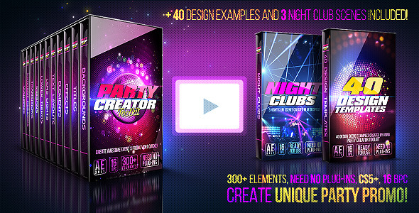 Party Creator Toolkit