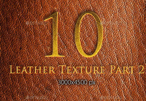 10 Leather Texture Part 2