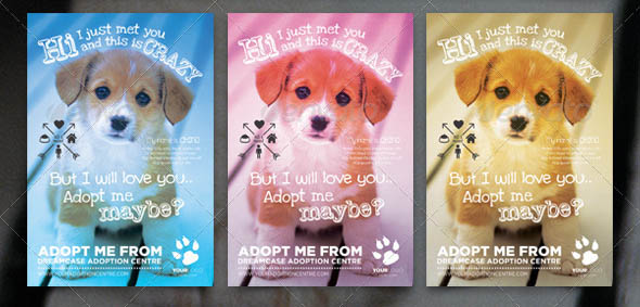 Animals Adopt Me Flyer 2