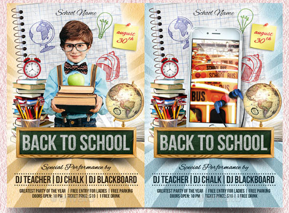 Back to School Flyer 04