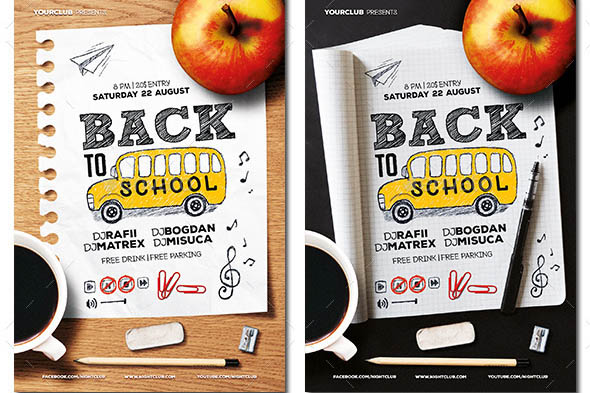 Back to School Flyer 07