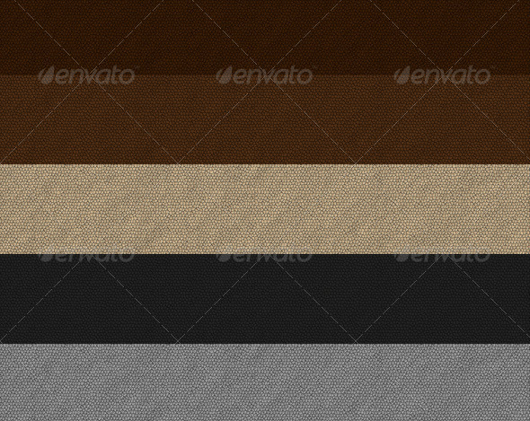 Leather Texture Background Set