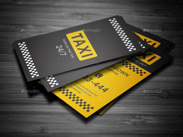 Taxi Business Card 01