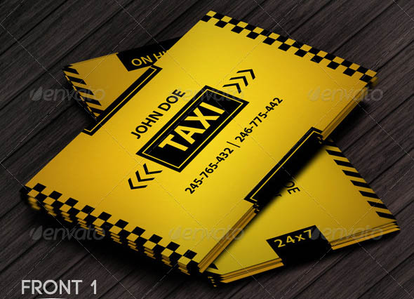 Taxi Business Card 03