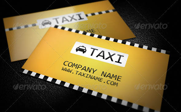 Taxi Business Card 05