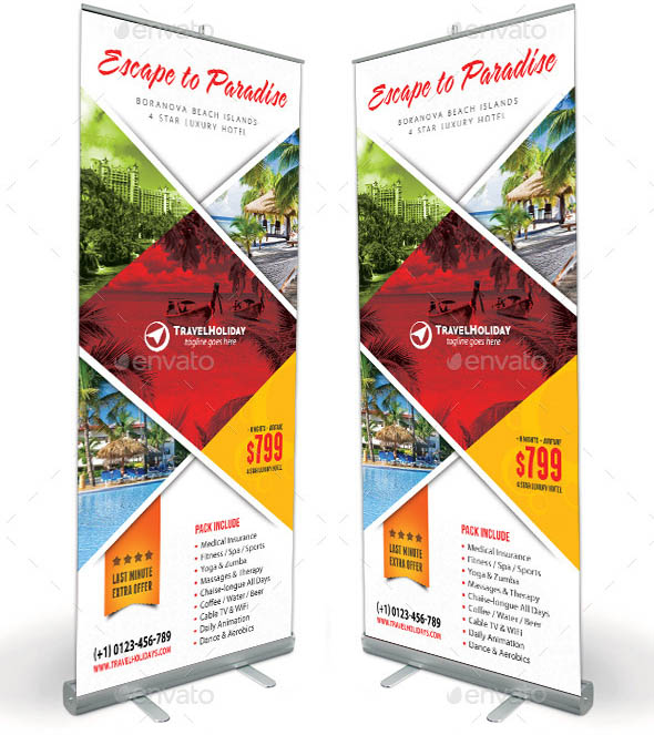 Travel Agency Banner Template 10
