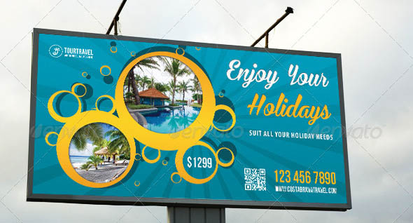 15 cool travel agency banner  u0026 signage psds  u2013 design freebies