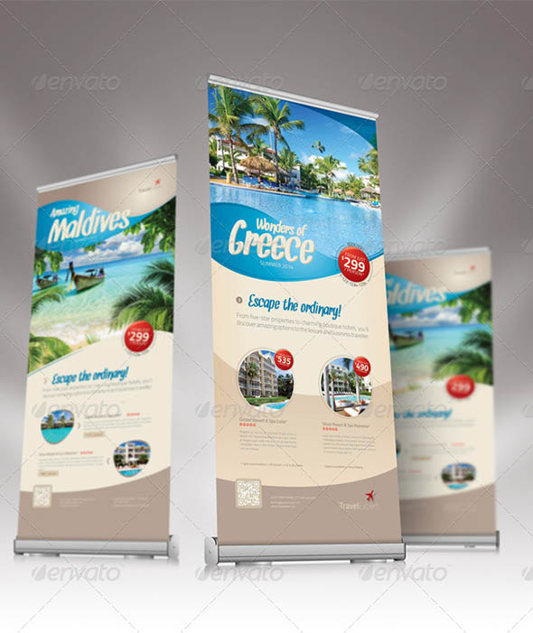 Travel Roll-up Banner 02
