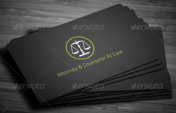 15 Cool Business Card PSDs For Lawyer – Design Freebies