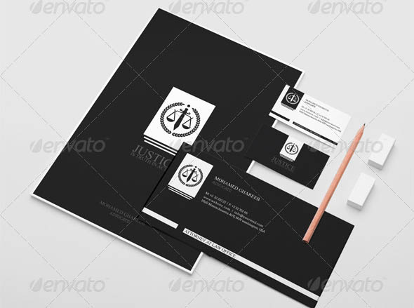Creative Lawyer Identity Package 5