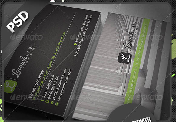 Law 2 Business Card