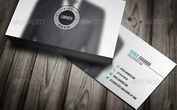 Lawyer Business Card 01