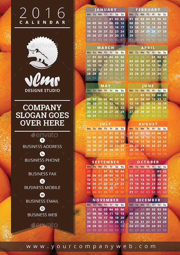 Nice Calendar  Indesign Templates  Design Freebies