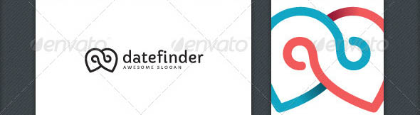 Date Finder Logo Template