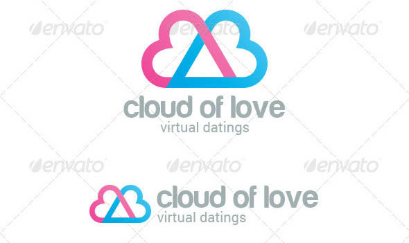 Dating Love Cloud Logo