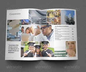 Education Brochure Template - 16 Pages