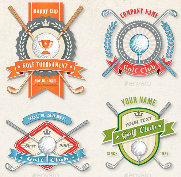 Golf Logos and Concepts