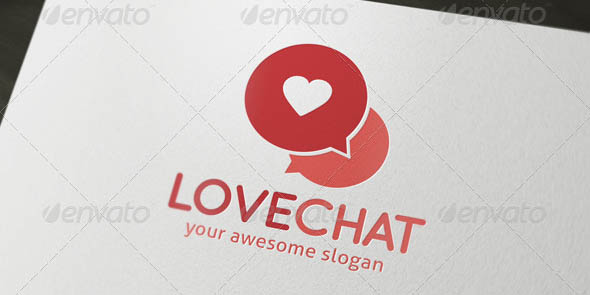 Love Chat Dating Logo