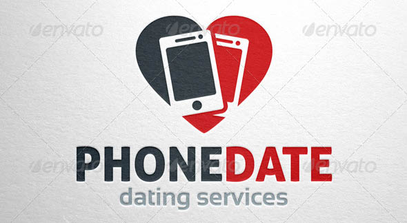 Phone Date Logo Template