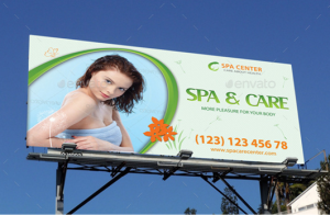Spa and Wellness Center Outdoor Banner 49