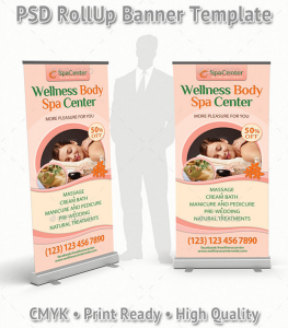 Wellness and Spa Rollup Banner 32