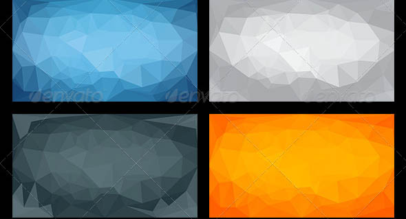 9 Polygon Backgrounds