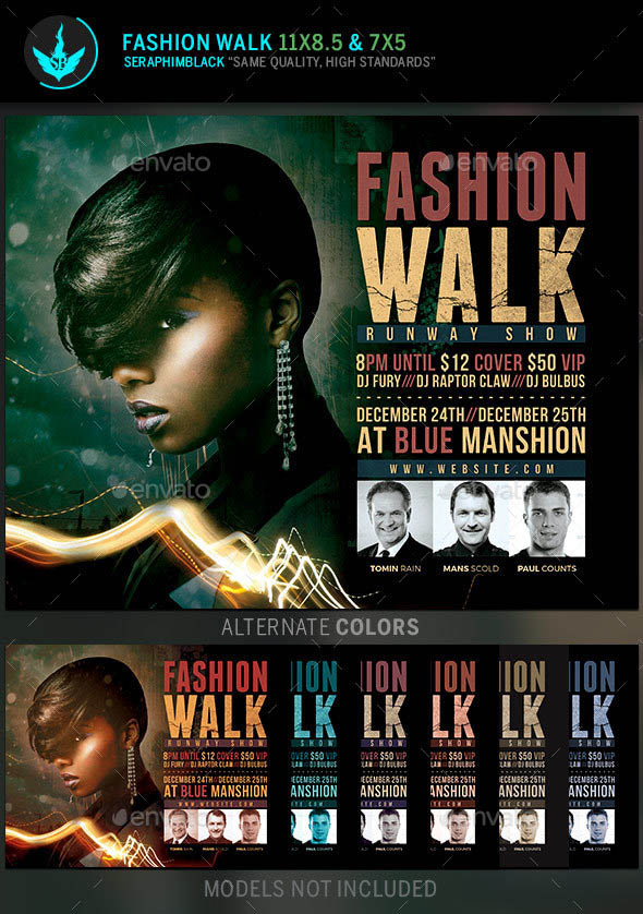 Fashion Flyer Template 01