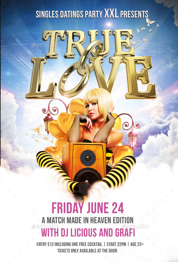 Flyer True Love Party