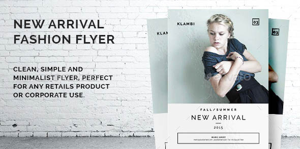 New Arrival Fashion Flyer