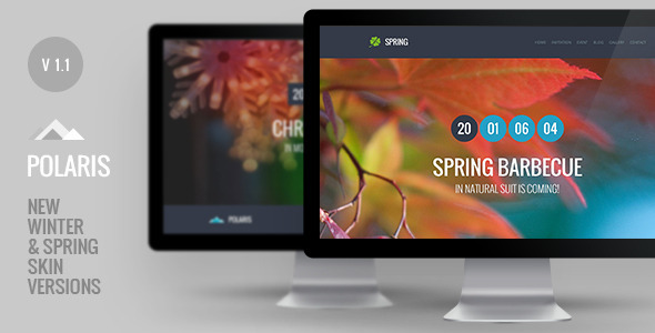 Responsive One Page HTML5 Template