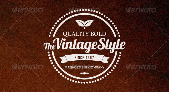 20 Vintage Badges and Labels
