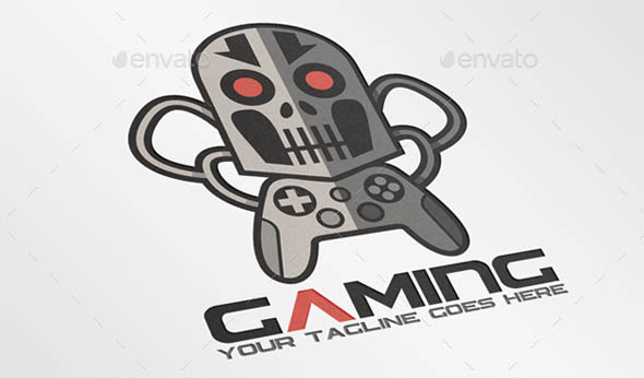 18 Cool Logo Templates For Game – Design Freebies